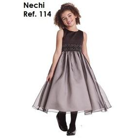 Vestido De Niña Nechi Talla 2 A 10 By Pacalyta