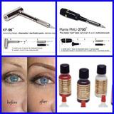 Dermografos Maquillaje Permanente Kit Y Tintas Microblanding