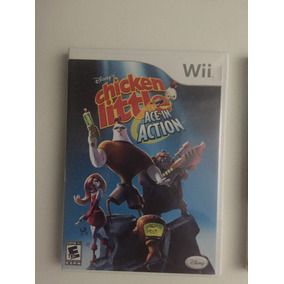 Nintendo Wii Chicken Little: Ace In Action By Disney