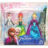 Juguetibox: Frozen Set Hermanas Elsa, Anna Y Olaf
