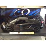 Carro Coleccionable Lamborghini Gallardo Superleggera 1/18