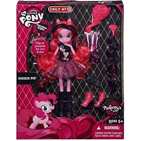Juguete Mi Figura Little Pony Pinkie Pie Equestria Girls
