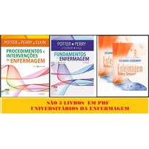 Kit 3 Pdfs Fund + Proc. E Interv. Potter + Brunner & Suddart