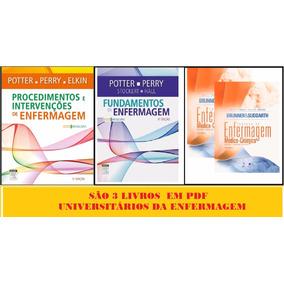Kit 3 Pdfs Fund + Proc. E Interv. Potter + Brunner & Suddart