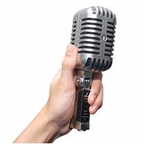 Arcano Ótimo Microfone Retro Vintage Series Amv3pl