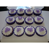 Cupcakes Decorados Infantiles-15 Años-boda-bautismo-comunion
