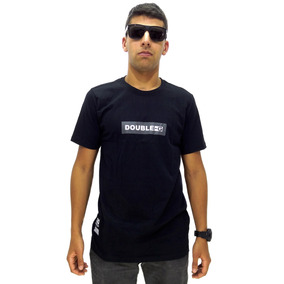 Camiseta Manga Curta Double G Simple Sem Capuz Black