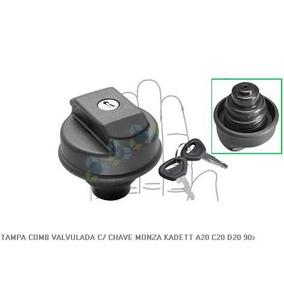 Tampa Tanque Combustivel Valvulada C/ Chave Monza Kadett