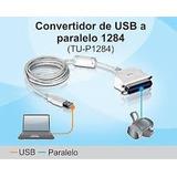 Cable Usb A Paralelo Centronics Impresoras Trendnet Tu-p1284