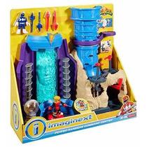 Imaginext Centro De Comando Power Rangers Luz Fisher Price