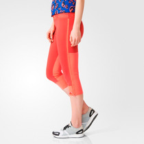 Calça Adidas Stella Mccartney Legging 3/4 Cós Elástico Top