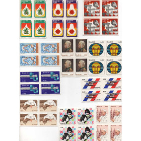 1980 - Selos Novos Mint - Qualquer Quadra É R$1,20