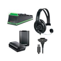 Kit De 5 Acessórios Essenciais Para Xbox360