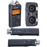 Gravador Voz Tascam Dr-40 Digital Portátil 4gb Versão 2