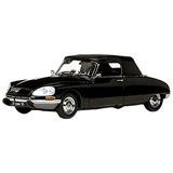 1969 Citroen Ds 21 Negro Abierto Convertible Platinum Serie