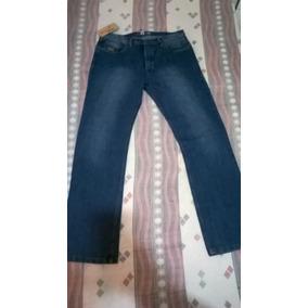 Jeans Originales Marca Bloqueo Para Caballeros Talla 34