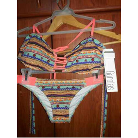 Traje De Baño Colombiano Garotas Talla S . Original