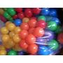 Pelotas Pelotero Virgen Brillantes 6 Colores 100un. Envios