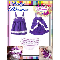 Baby Bloomers - Vestiditos Con Calzoncito Niñas