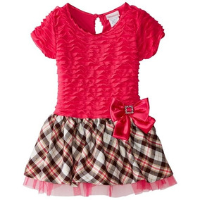 Vestido Niña Rosa Youngland, Talla 2 Años. Envio Gratis