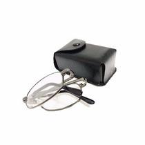 Oculos De Grau Leitura Dobravel Masculino Case Porta Cintura