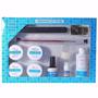 Kit Gel Uv P/ Unha Acrygel Cola Tips Lixa Removedor Top Coat