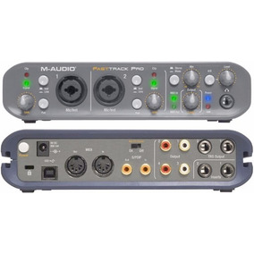 M-audio Fast Track Pro Usb Digital Audio Interface For Pcs