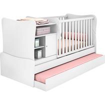 Berço Americano Mini-cama Com Cômoda E Cama-auxiliar Encanto