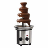 Fuente De Chocolate Chamoy Queso Holstein 1lt 46cm 4 Niveles