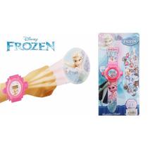 Reloj Digital Infantil Frozen Sofia Proyector Transformers