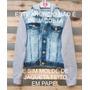 Molde De Jaqueta Jeans Com Moleton Frete Gratis Escolha Tam.