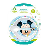 Plato Con Cucharilla Mickey Mouse Disney