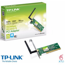 Wireless N Pci Adaptador Tp-link Tl-wn751nd Xtc
