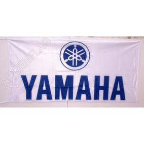 Bandera Yamaha Motos Blanca * Tambien Kawasaki Suzuki Honda