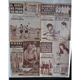 Lote X 4 Revista River N 900 902 903 904 Rossi Maquina 1962