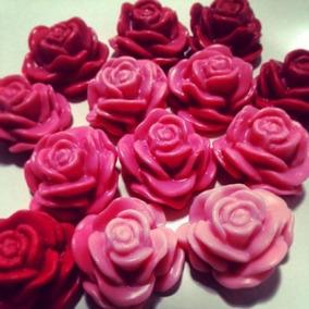 100 Sabonete Artesanal De Flor Mini - Eventos