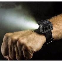 Lampara C/ Reloj Digital Tactico Con Lampara Led 1000 Lumens