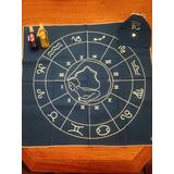 Combo Paño Tarot Astrológico + 2 Armonizadores Auricos