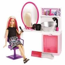 Barbie Fab Salao Estilo E Brilho Mattel (61419)