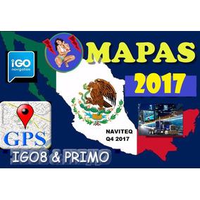 Mapas 2017 Q.4 Igo8 Igoprimo Para Mexico Originales Y Chinos