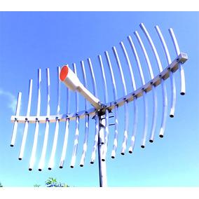 Antena Wifi 5.8ghz Grillada 22dbi Hasta 9km