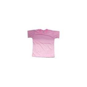 Camiseta 100% Poliester Sublimação Cores Infantil Tam 8
