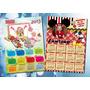 Souvenirs Almanaques Calendarios Iman 2017 14x20cm X10u