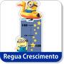 Adesivo Parede Régua Minions Turma Monica Disney Baby