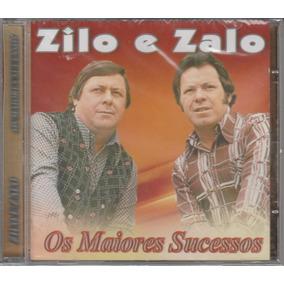Zilo E Zalo - Cd Os Maiores Sucessos - Lacrado