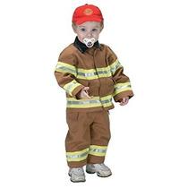 Disfraz Para Niño Traje Jr. Del Bombero Con El Casquillo Bo