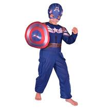 Disfraz Capitán América Marvel Disney Licencia Original