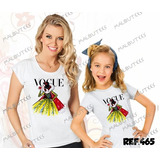 Tal Mãe Tal Filha Baby Look+camiseta Princesa Branca De Neve