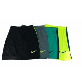 Calção Shorts Nike Futebol Kit C/ 5 Peças Treino Academia
