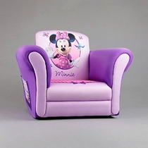 Minnie Mouse Tapizado Mecedora Púrpura Chicas Disney Rocker